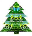 Mary Katrantzou`dan Noel ağacı