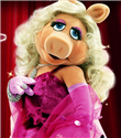 Miss Piggy`nin kıyafetleri Vivienne Westwood