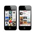Pinterest iPhone`da