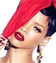 Rihanna MAC için poz verdi