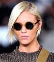 Yuvarlak gözlük modası